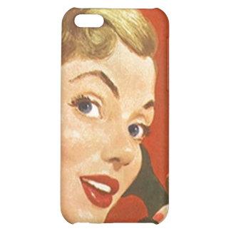 iPhone 4 Case Chic Retro Phone Calls Telephone gal