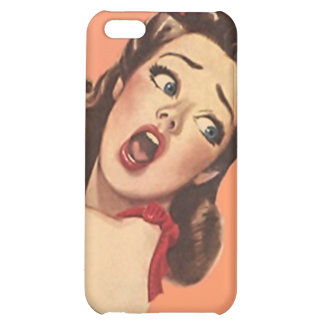 iPhone 4 Case Chic Retro Surprised Express Shock!!
