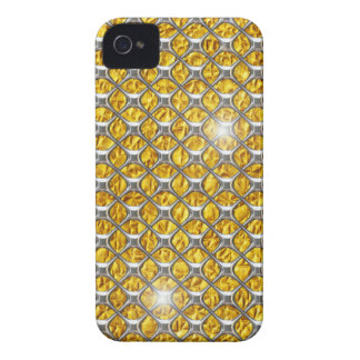 iPhone 4 case Chrome Gold 3D Gift