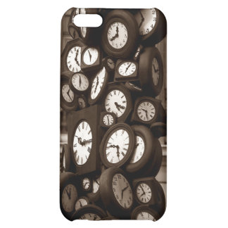 iPhone 4 Case Clocks Timepieces busy keeping time