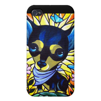iPhone 4 Case Dog Puppy Painting Art