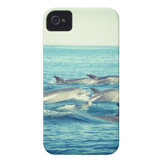 iPhone 4 Case - Dolphins in the sea