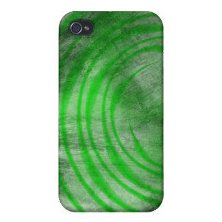 iPhone 4 Case - Ethereal Swirl (dark green)