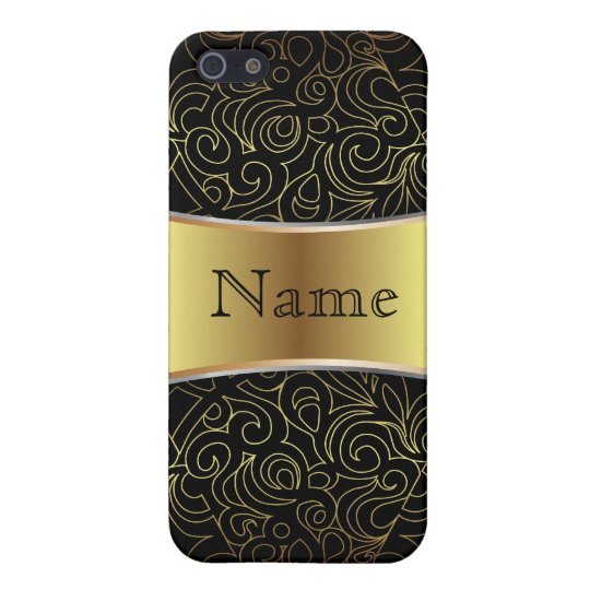 iPhone 4 Case Floral Abstract Damasks