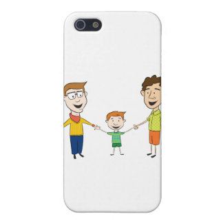 iPhone 4 Case - Gay Family