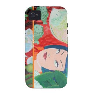 iPhone 4 Case - Gigi Under the Sea