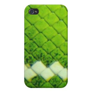 iPhone 4 Case - Green Boa II SnakeSkin