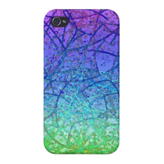 iPhone 4 Case Grunge Art Abstract