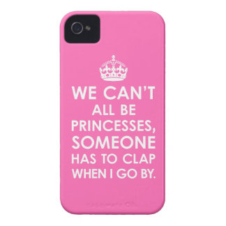 iPhone 4 Case Hot Pink We Can t All Be Princesses