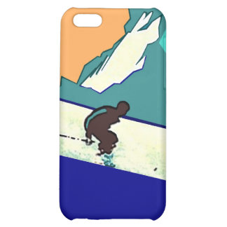 Iphone 4 Case Id rather be skiing Slope downhill