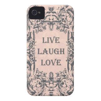 iphone 4 case LIVE LAUGH LOVE