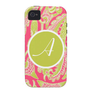 iPhone 4 Case Lucy Ann Monogram by Mally Mac