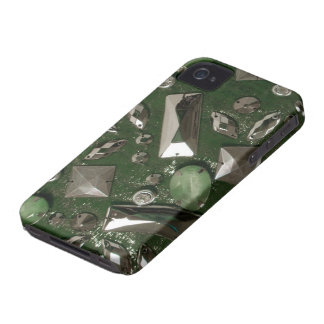 iPhone 4 Case-Mate Barley There Faux gem look iPhone 4 Case-Mate Cases
