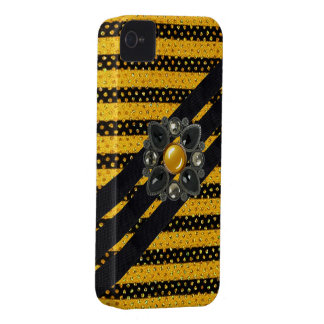 iPhone 4 Case-Mate Barley There Faux jewels iPhone 4 Case-Mate Case