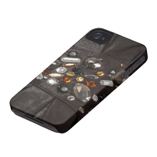 iPhone 4 Case-Mate Barley There leather look iPhone 4 Case-Mate Case