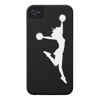 iPhone 4 Case-Mate Cheer 1 Silhouette White/Black