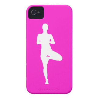 iPhone 4 Case-Mate Yoga 1 Silhouette Pink