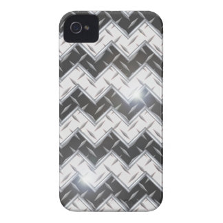 iPhone 4 case Metal Plate Chrome Diamond 3D Gift