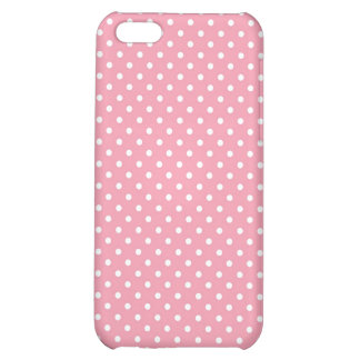 iPhone 4 Case Pattern Pink Polka Dots