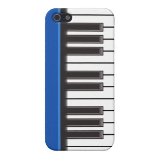 iPhone 4 Case - Piano Keys on Blue