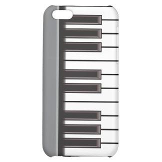 iPhone 4 Case - Piano Keys on Grey