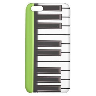 iPhone 4 Case - Piano Keys on Lime
