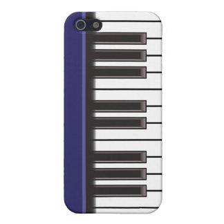 iPhone 4 Case - Piano Keys on Navy