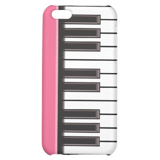 iPhone 4 Case - Piano Keys on Pink