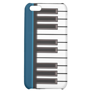 iPhone 4 Case - Piano Keys on Teal