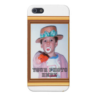 iPhone 4 case Picture Frame Your Photo Text 3D
