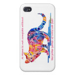 iPhone 4 case Pitter Patter of Little Cat Feet