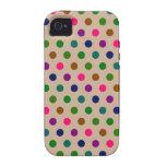 iPhone 4 Case Polka Dots