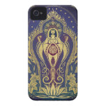iPhone 4 Case - Sacred Mother by C. McAlliter