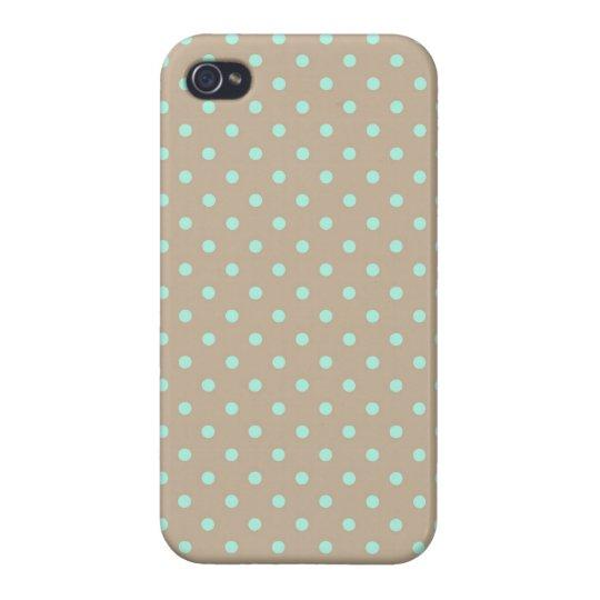 iPhone 4 Case Savvy Polka Dot