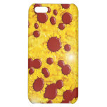 iPhone 4 case Template Gold Blood Shiny 3D