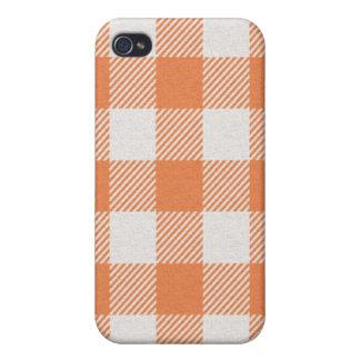 iPhone 4 Case - Textured Plaid - Clownfish