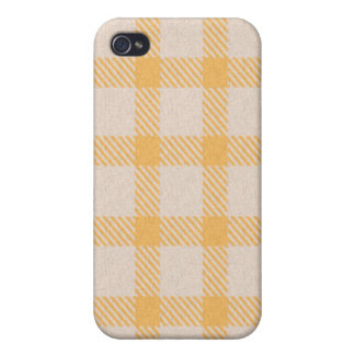 iPhone 4 Case - Textured Plaid - Staghorn