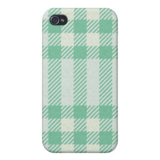 iPhone 4 Case - Textured Plaid - Tortuga
