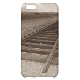 iPhone 4 Case Train travel end railroad tracks