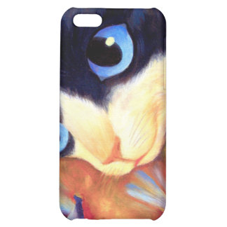 iPhone 4 Case Tuxedo Painting Art