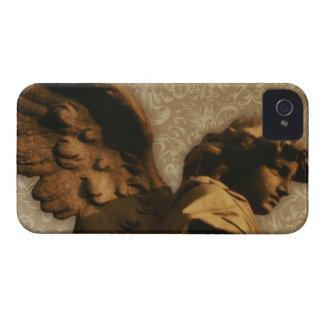 iPhone 4 Case Vintage Angel Statuary 1
