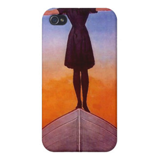 Iphone 4 Case Vintage Goth life in balance seeking
