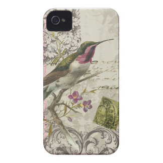 iphone 4 case.. .Vintage Hummingbird iPhone 4 Case-Mate Case