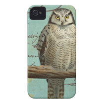 iphone 4 case.. .Vintage Owl Case-Mate iPhone 4 Case