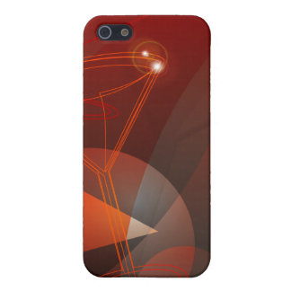 Iphone 4 case with graphic goblet design