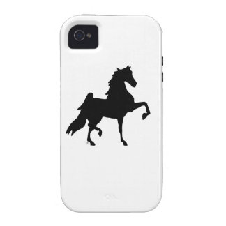 iPHone 4 case with horse logo