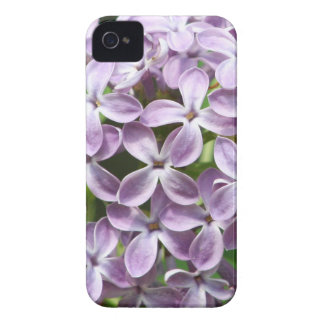 iPhone 4 case with photo of beautiful purple lilac