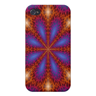 IPhone 4 Case with Shining abstract design