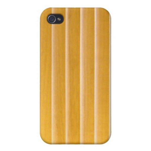iPhone 4 Case - Woods - Golden Slat Vert