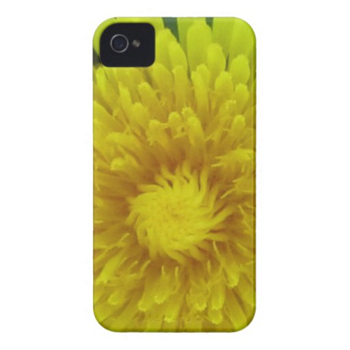 iPhone 4 Case - Yellow Flower